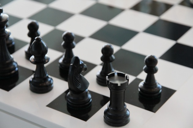 Chess is a suitably abstract subject and so can seem relevant to anything