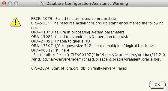 oracle-11203-spfile-error