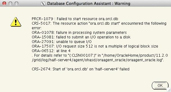 oracle-11203-spfile-error