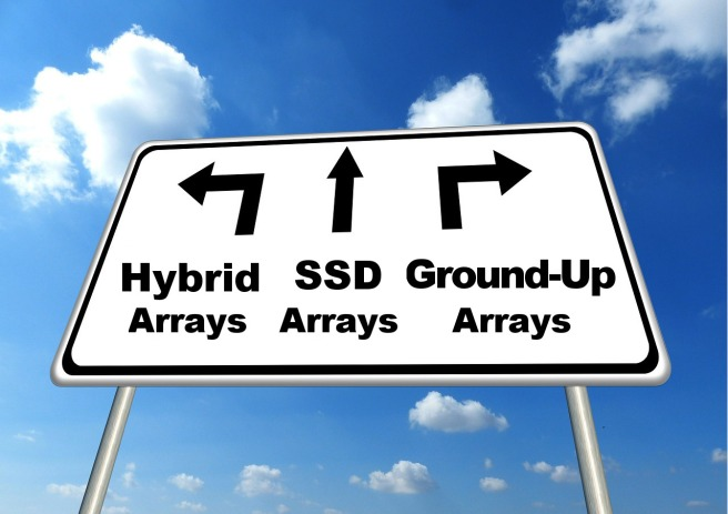 All Flash Arrays - Hybrid, SSD-based or Ground-Up
