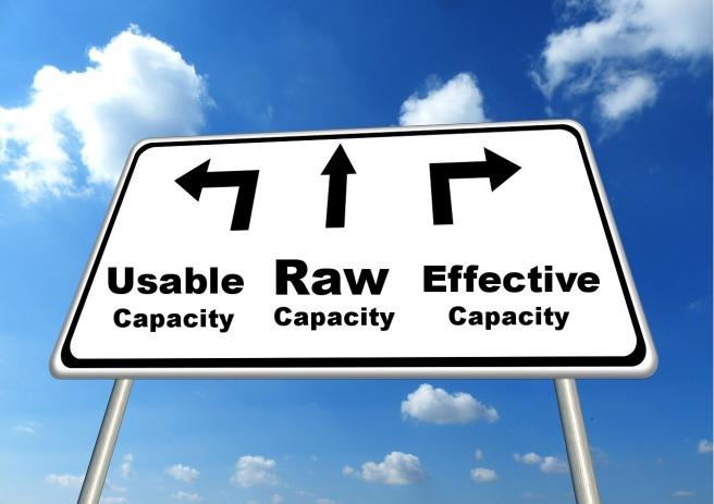 capacity-effective-usable-raw