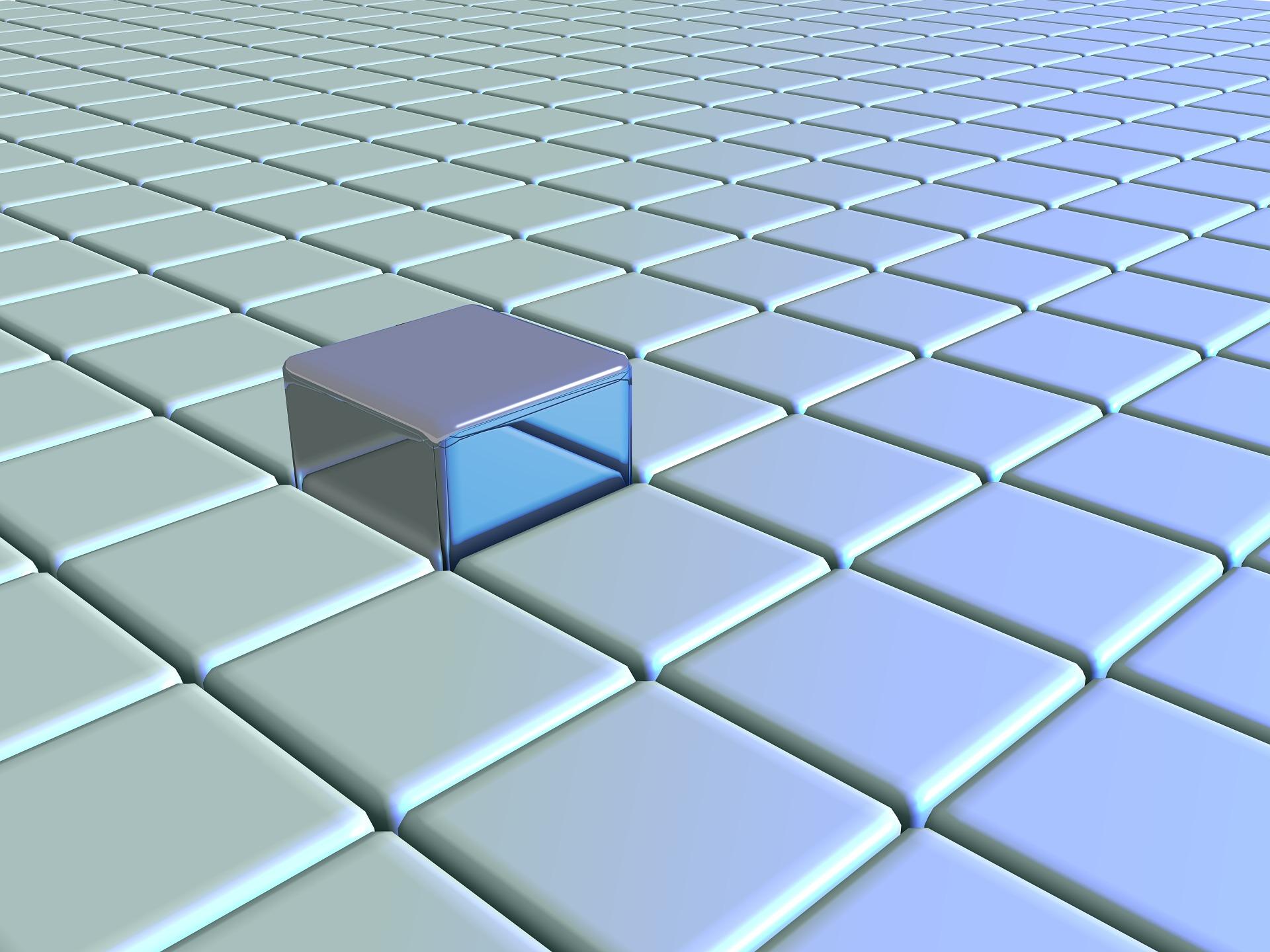grid-cube-3d